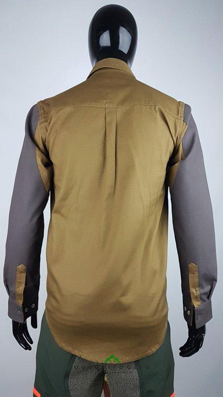 5a Regina camicia CR2 Marrone (2)