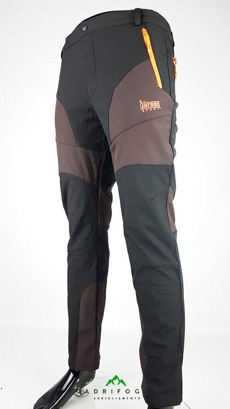 Safari Sport Pantalone Brownblack (1)