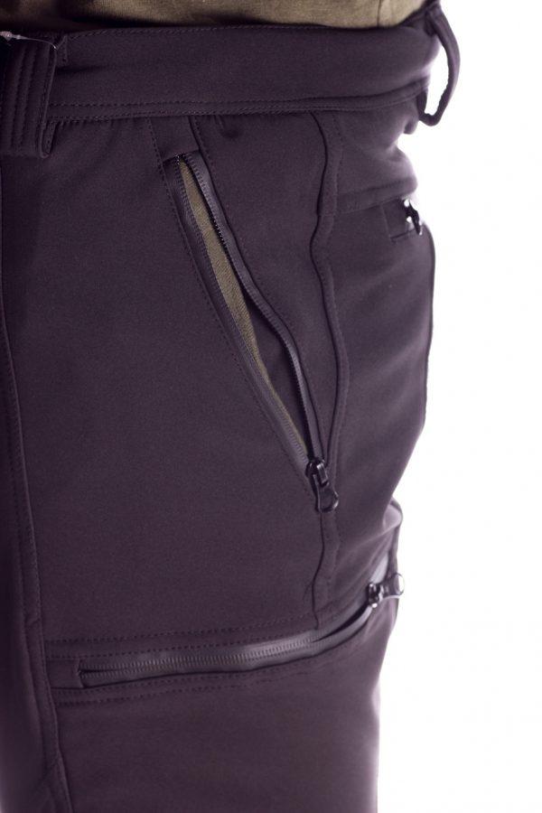 Pantalone da caccia CTB 03.3 nero-5