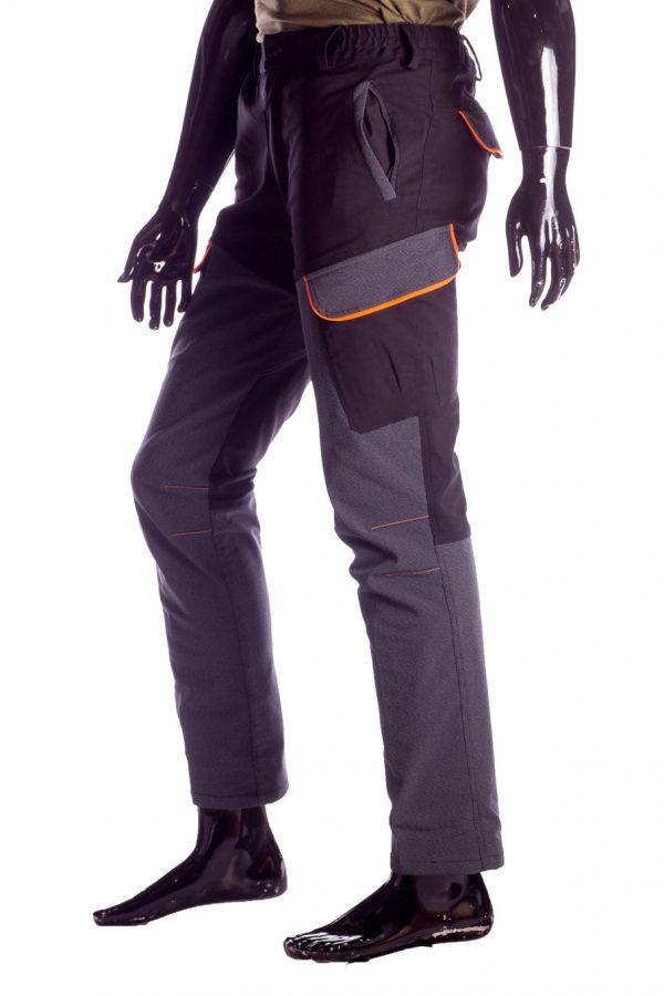 Pantalone da caccia RS Hunting 04 nero-2