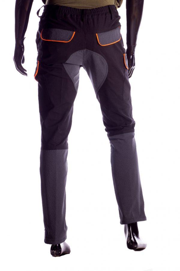 Pantalone da caccia RS Hunting 04 nero-3