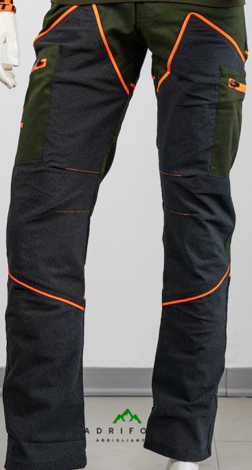 pantalone hunting hiking arancione qf abbigliamento qf10
