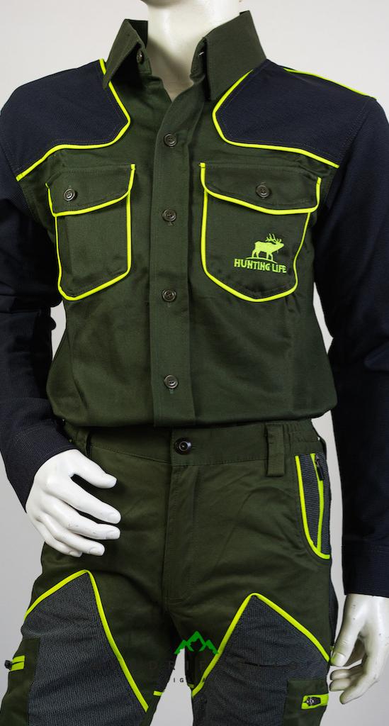 Completo pantalone + camicia Hunting Life QF Abbigliamento