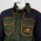 camicia hunting hiking resistente traspirante arancione