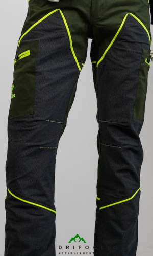 pantalone hiking trekking giallo qf abbigliamento qf10