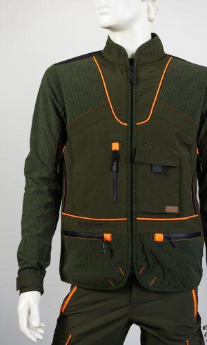 giacca hunting hiking arancio qf abbigliamento