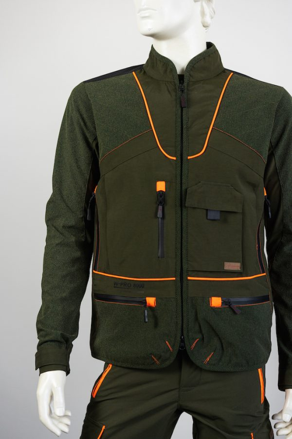 Giacca Adventure Arancio QF Abbigliamento