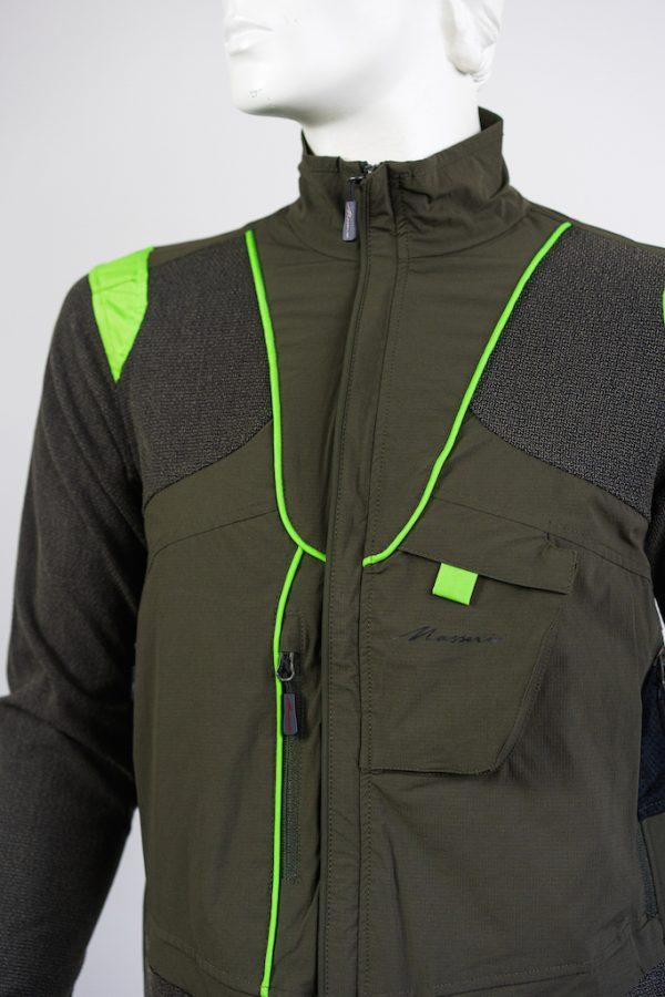 Giacca Masseria 77 Verde QF Abbigliamento