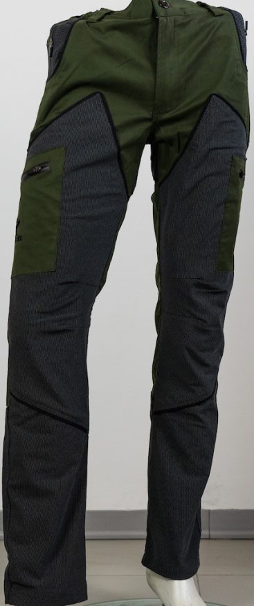 pantalone hiking hunting colore neutro qf abbigliamento
