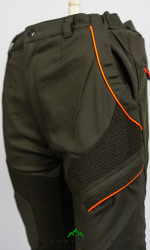 pantalone robusto hunting hiking trekking qf abbigliamento