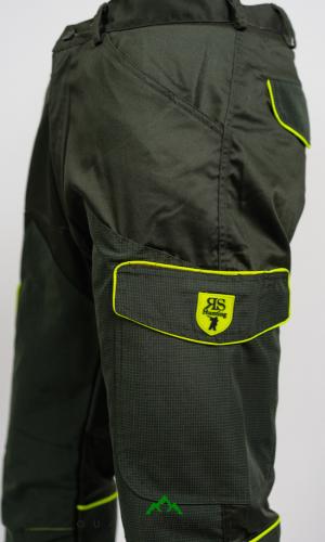 pantalone hunting hiking trekking robusto resistente giallo