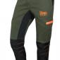 pantalone montagna alta visibilità resistente rinforzato hunting hiking