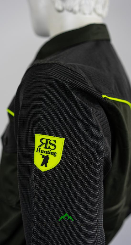 Camicia RS Hunting C 250 Yellow QF Abbigliamento