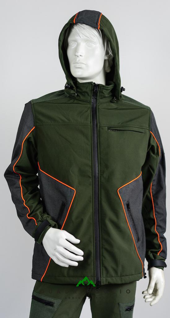 Giacca Vient Orange QF Abbigliamento