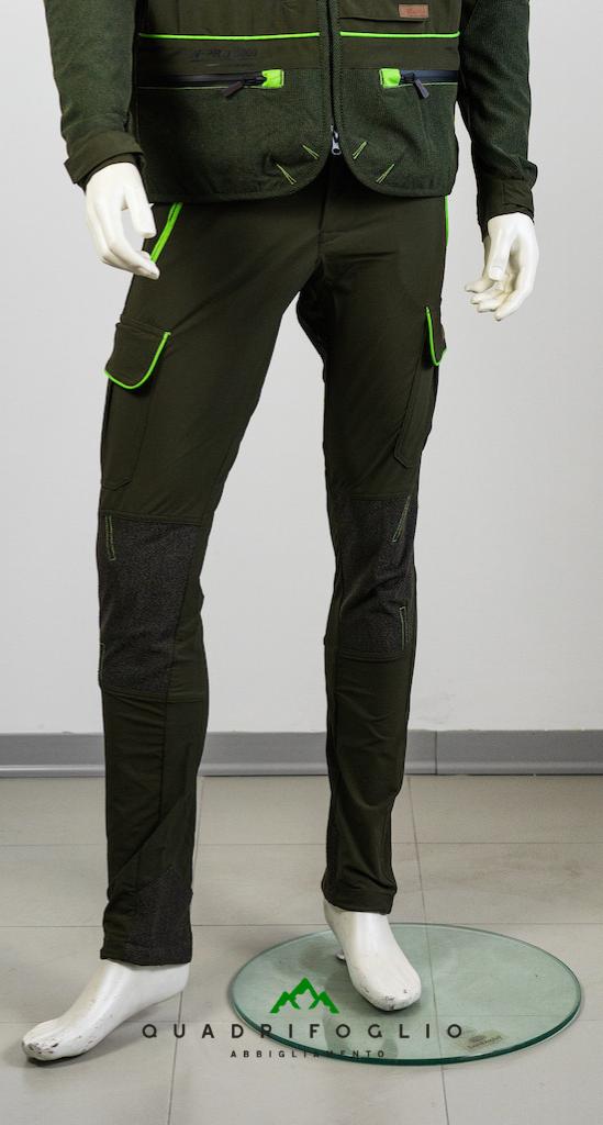 Pantalone Masseria 35 Verde NEW QF Abbigliamento