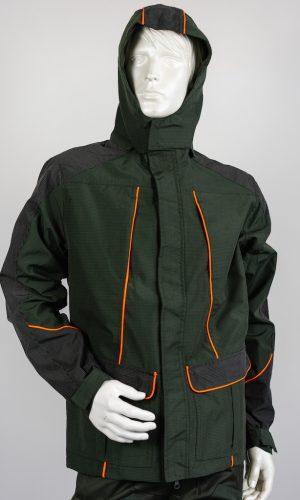 giacca resistente multitasche alta visibilità hunting hiking trekking